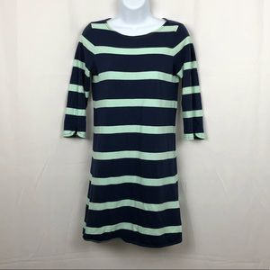 J.Crew cotton knit 3/4 sleeve T-shirt dress XXS